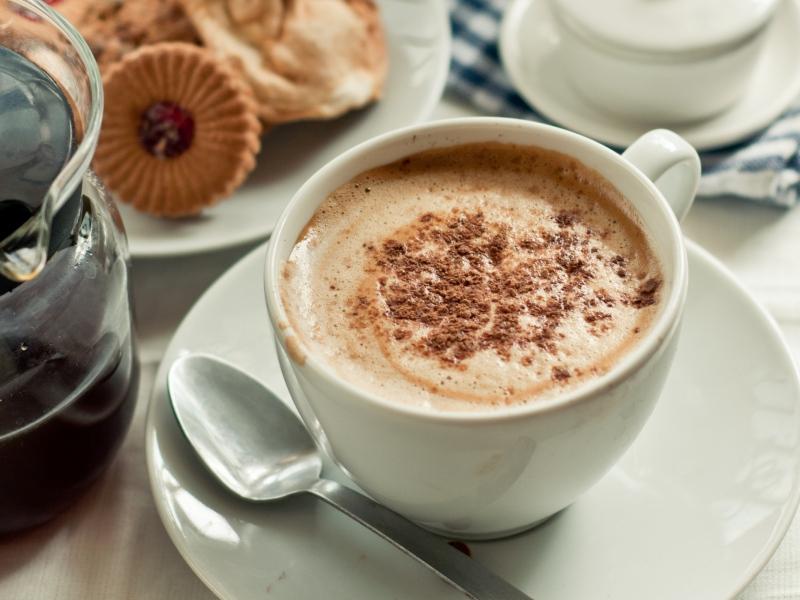 دسر خامه و قهوه