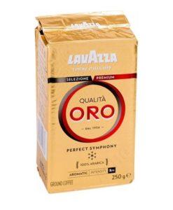 قهوه کوالیتا اورو لاواتزا 250 گرمی پاکت وکیومیLavazza Qualità Oro