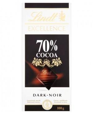 شکلات تخته ایی تلخ ۷۰ درصد لینت