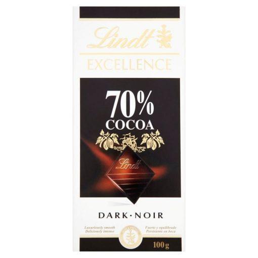 شکلات تلخ لینت 70 درصد lindt