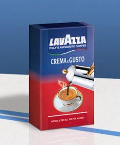 لاواتزا کرما گوستو lavazza