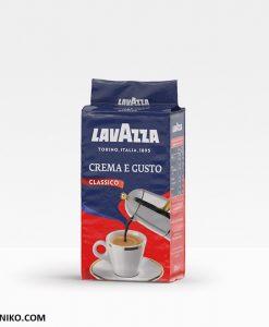 پودر قهوه لاواتزا کرما گوستو Lavazza Crema e Gusto Classico