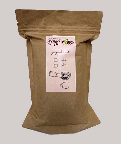 قهوه اسپرسو صد در صد عربیکا دارنیکو
