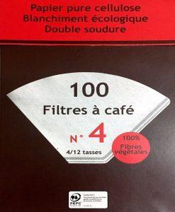 فیلتر کاغذی قهوه سفید
