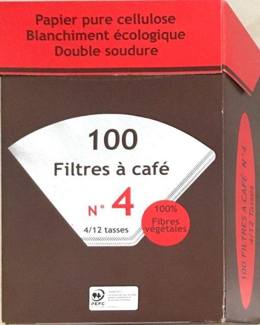 فیلتر کاغذی سلولزی سفید قهوه