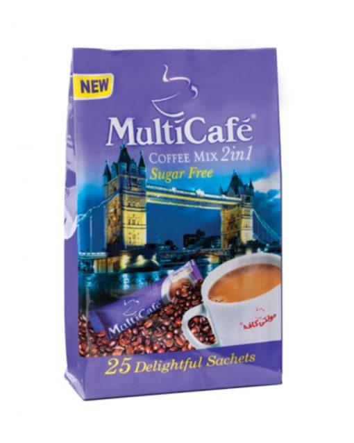 کافی میکس بدون شکر مولتی کافه