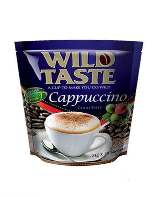 کاپوچینو فوری کم شکر وایلد تیستwild taste