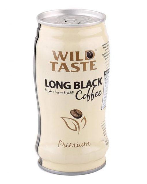 آیس کافی لانگ بلک وایلد تیست wild taste long black