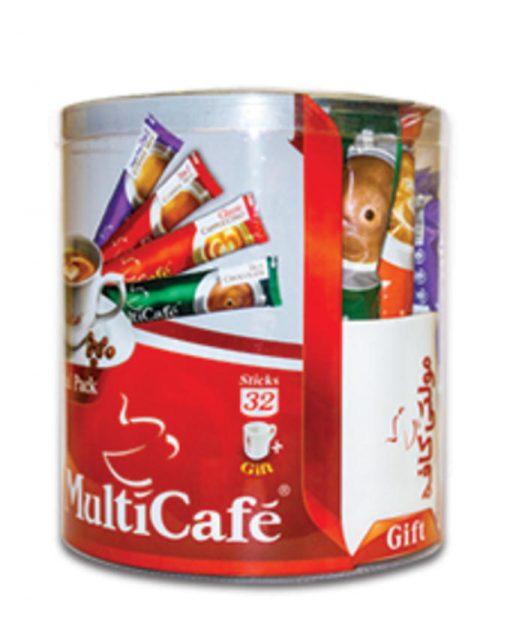 بسته ویژه مولتی کافه به همراه ماگ هدیه multicafe
