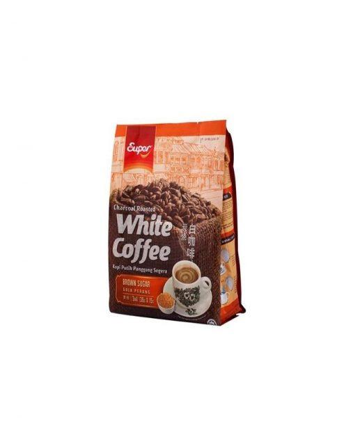 وایت کافه با شکر قهوه ایی سوپر