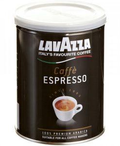 lavazza caffe espresso 250 gram لاواتزا کافه اسپرسو قوطی