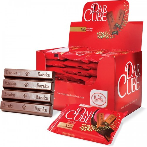 شکلات شیری کریسپی دارکوب