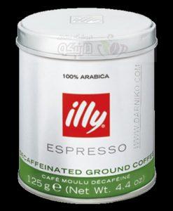 قهوه بدون کافئین ایلی illy Decaffeinated Coffee