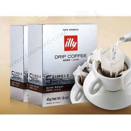 قهوه فیلتری ایلی دارک