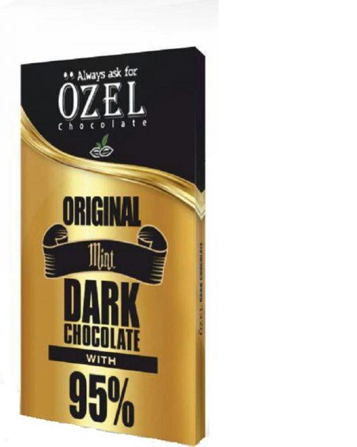 شکلات تخته ای 95 درصد کاکائو دارک کرال