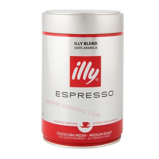 Ground Espresso Medium Roast Coffee ILLY