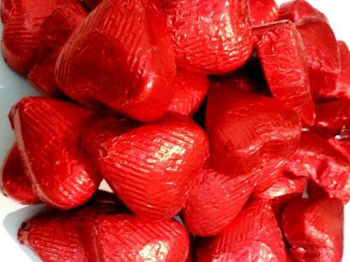 شکلات پذیرایی اوزل طرح قلبی در طعم دارک و شیری