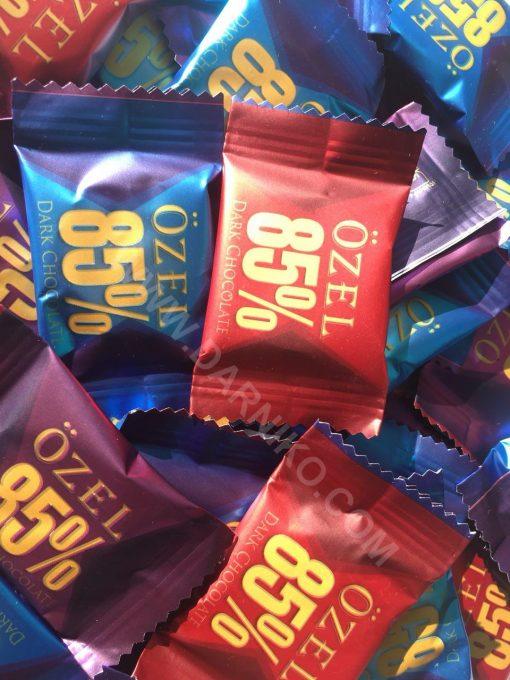 شکلات تلخ اوزل 85 dark