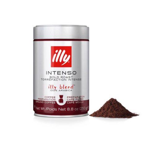 پودرقهوه فرانسه دارک ایلی با روست تیرهilly Ground Drip Dark Roast Coffee bold