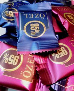 شکلات تلخ کرال 95 درصد کاکائو
