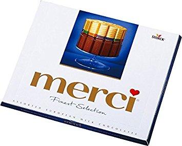 شکلات مرسی آبی شکلات شیری مرسی Merci