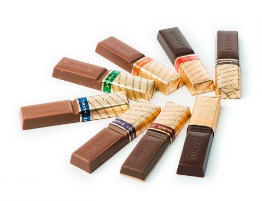 شکلات مرسی در بسته بندی های متنوع