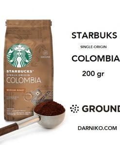 پودر قهوه استارباکس کلمبیا سینگل اورجین StarBucks Colombia