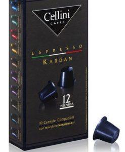 کپسول قهوه چلینی مدل کاردان Cellini Kardan