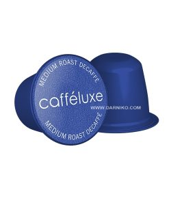 کپسول قهوه نسپرسو بدون کافئین کافی لوکس