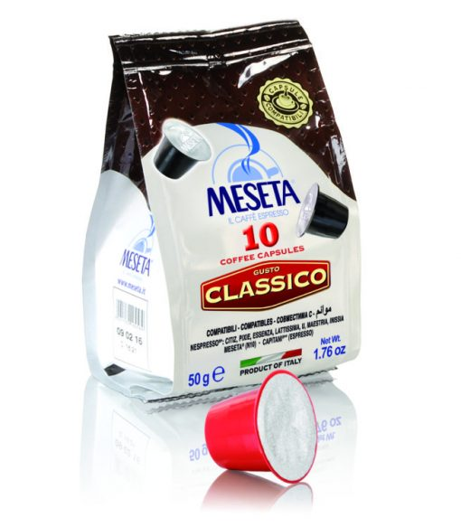 کپسول قهوه کلاسیک نسپرسو مزتا