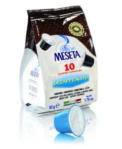 کپسول قهوه دی کافئین نسپرسو ( مزتا ) Meseta