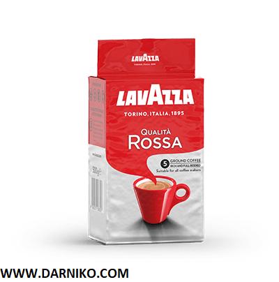 پودر قهوهلاوازاکوالیتا روسا Lavazza Qualità Rossa