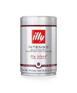 دانه قهوه ایلی دارک روستilly Bean Dark Coffee illy Bean Coffee intenso bold roast illy blend 250gr