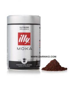 پودر قهوه موکا ایلی دارک روست 250 گرمی قوطی