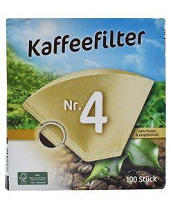فیلتر قهوه جوش صد عددی سایز 4 Kaffeefilter