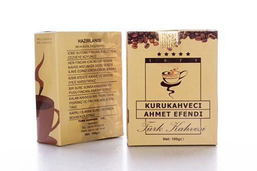 قهوه ترک ترکیه صد گرمی احمد افندی