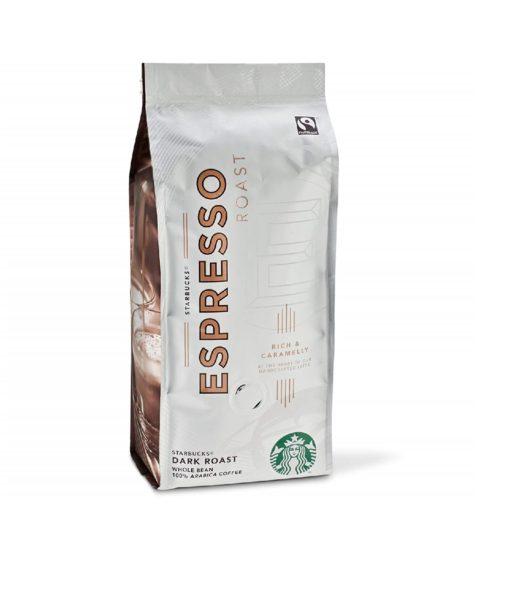دانه قهوه دارک روست اسپرسو استارباکس Starbucks Espresso Dark Roast Coffee Beans