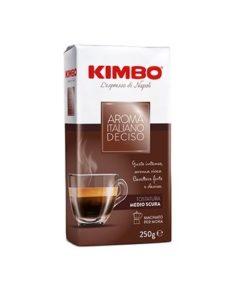 پودر قهوه کیمبو آروما ایتالیانودچیزو Kimbo Aroma Italiano Gusto Deciso Coffee