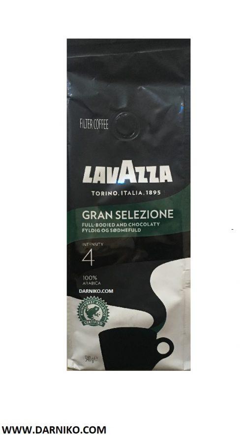 پودر قهوه لاواتزا GRAN SELEZIONE گرانه سلیتزیونه LAVAZZA