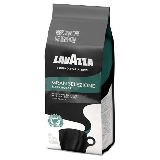 Lavazza Gran Selezione Ground Coffee Blend, Dark Roast