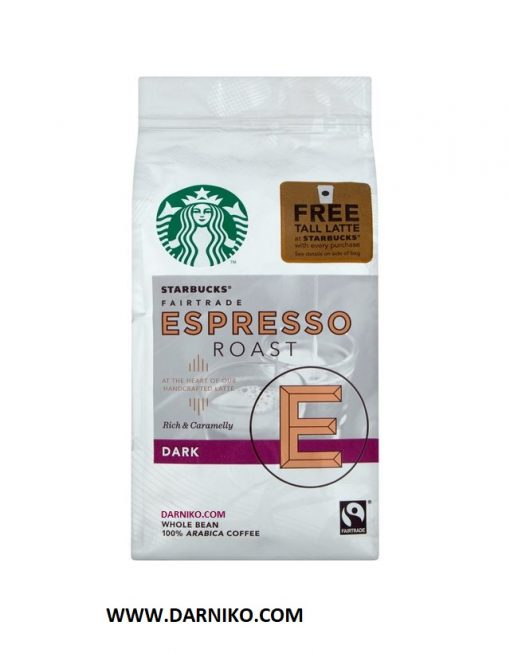 قهوه اسپرسو استارباکس دارک روست