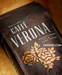 دانه قهوه کافه ورونا استارباکس STARBUSKSCAFFE VERONA COFFEE BEANSدانه قهوه کافه ورونا استارباکس STARBUSKSCAFFE VERONA COFFEE BEANS