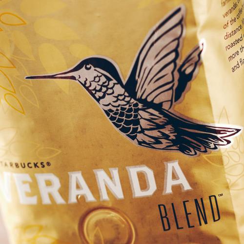 دانه قهوه وراندا بلند استارباکس لایت روستSTARBUSKS VERANDA BLEND BLOND ROAST BEANS قهوه فرانسه استارباکس قهوه بلوند استارباکس