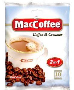 کافی میکس رژیمی بدون شکر مک کافی 2in1 maccoffee