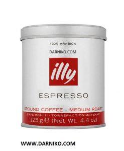 قهوه ایلی اسپرسو مدیوم پودری