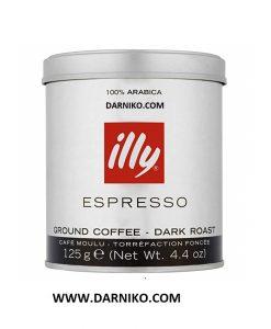 قهوه دارک ايلی اسپرسو پودری illy Espresso Dark