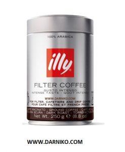 قهوه فیلتر کافی ایلی دارک روست فرانسه فرنچ پرس