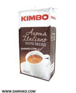 پودر قهوه کیمبو آروما ایتالیانو مدل گوستو دچیزو