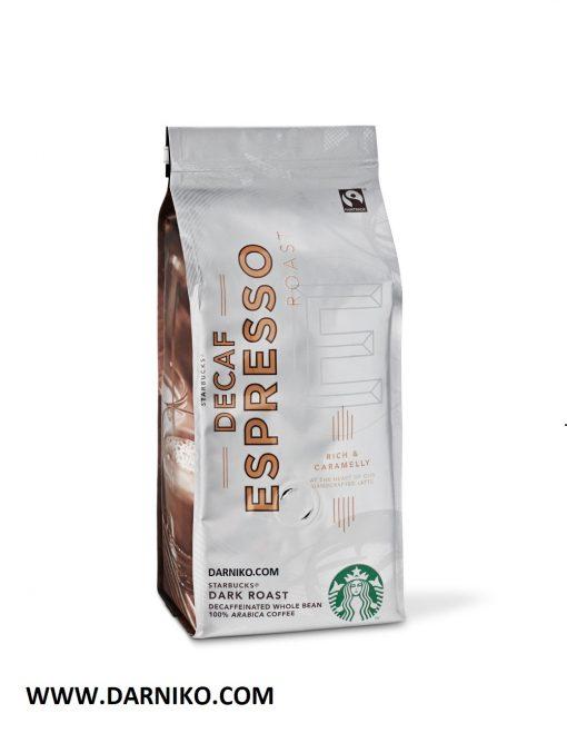 دانه قهوه دارک روست اسپرسو استارباکس