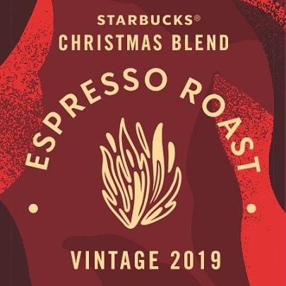 دانه قهوه اسپرسو روست کریسمس بلند استارباکس(ترکیب ویژه اسپرسو کریسمس ) 2019 StarBucks Christmas Blend Espresso Roast